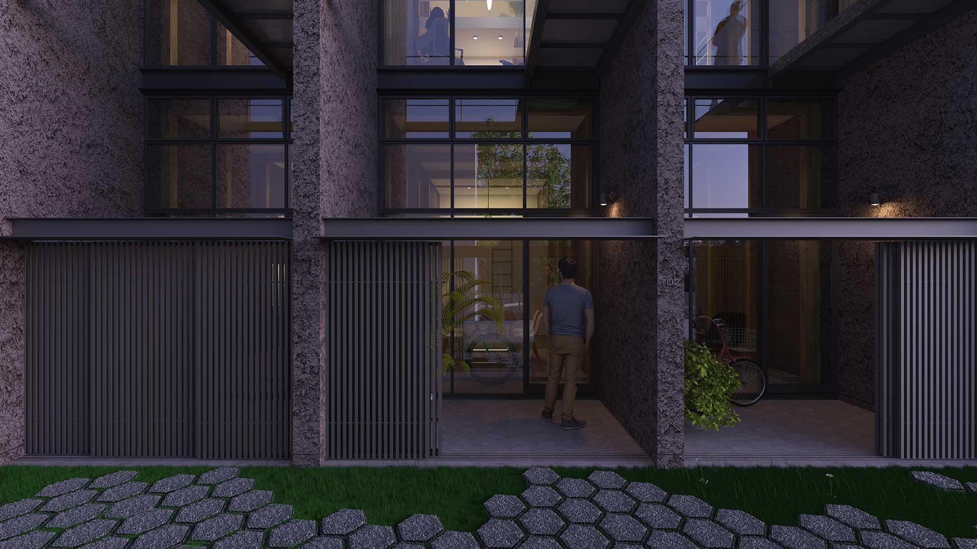 板橋の集合住宅